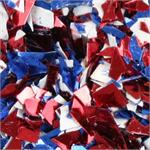 Red, White and Blue Small Cut Confetti