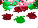 Red and Green Christmas Gift Confetti