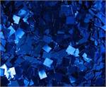 Square Glitter Square Confetti Royal Blue Bulk by the Pound