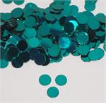 Teal and Turquoise Confetti