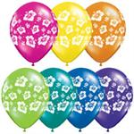 Biodegradable Tropical Print Balloons