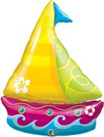 Tropical Sailboat Balloon, 40