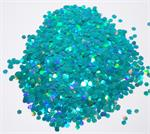 Turquoise Prismatic Glitter
