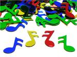 Music Note Confetti, Assorted Bright