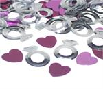 Silver Diamond Ring Confetti