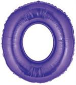 Purple Number 0 Balloon