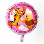 It's a Girl Winnie the Pooh Balloon