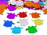 Gift Box Confetti, Assorted Bright Colors