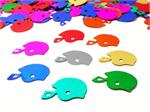 Football Helmet Confetti, assorted colors