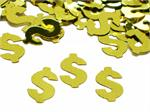 Money Symbol Gold Dollar Sign Confetti