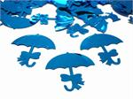 Baby Shower Confetti, Blue Umbrella