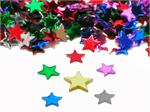 Tiny Multi Colored Star Confetti