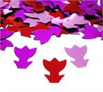 Tulip Shaped Confetti in Reds and Pinks