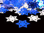 Star of David Confetti,