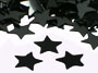 Black Star Confetti, 1/4""