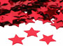 "Star Confetti, Red 1/4"" by the packet or pound"