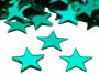 "Star Confetti, Turquoise 1/4"" by the pound or packet"