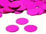 "Round Confetti, Hot Pink 1/4"" by the pound or packet"