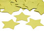 "Star Confetti, Gold 3/4"" by the pound or packet"