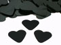 black heart confetti