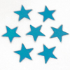 "Star Confetti, Sky Blue 1/4"" by the packet or pound"
