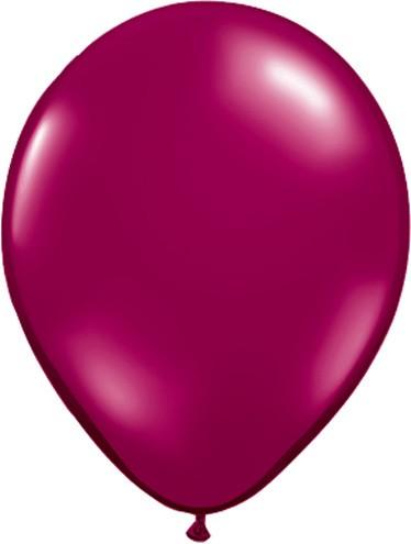 Burgundy Balloons Small 5 Inch Burgundy Latex Balloons