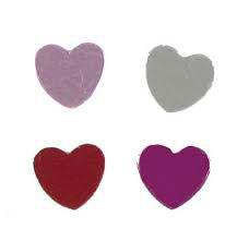 Orted Heart Shaped Confetti