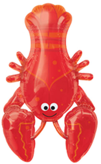 Lobster Balloon, Great for Lobster Theme Parties