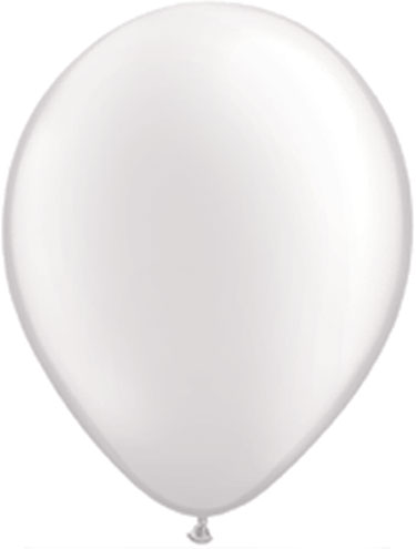 Pearl white balloons helium quality biodegradable made in the united states