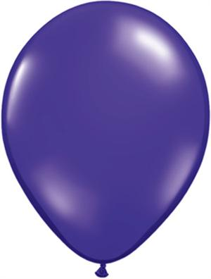 Quartz Purple Biodegradeable Balloons, 11""