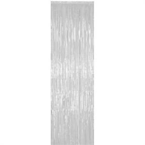 White Fringe Curtain