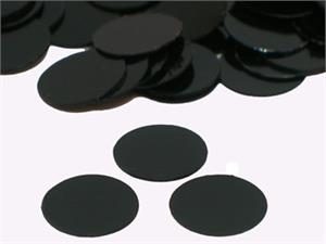 Black Round Confetti Small by Pound or Packet