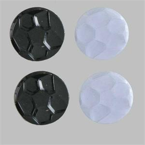 Soccer Ball Party Confetti Black and White