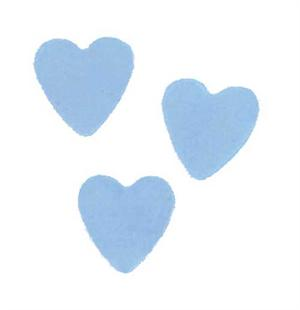 Pearl Light Blue Heart Confetti