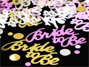 bridal shower confetti