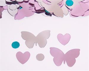 Butterflies and Hearts Confetti