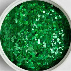 Prismatic Emerald Green Glitter by the Pound