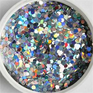 Prismatic Silver Glitter (.094) Pound or Ounce