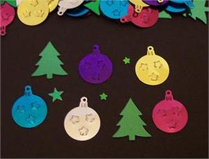 Christmas Tree Confetti Ornament Confetti