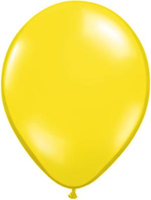 Lemon Yellow Balloons, Citrine Yellow