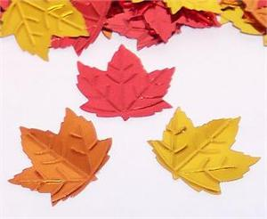 Metallic-Fall-Leaves-Confetti