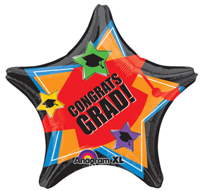 Star Graduation Balloon, Congrats Grad