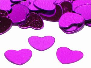 Metallic-Fuchsia-Heart-Shaped-Confetti