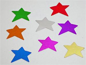 Rainbow Star Confetti Party Fun
