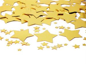 Galaxy Gold Star Confetti