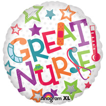 Great Nurse Mylar Balloons