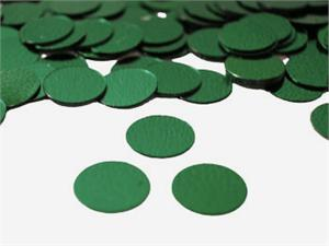 Hunter Green Round Confetti