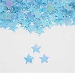 Pastel Blue Star Confetti Pearl Light Blue Star Shaped Confetti