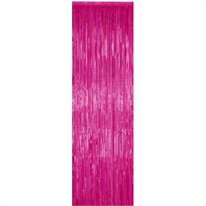 Magenta Metallic Curtain