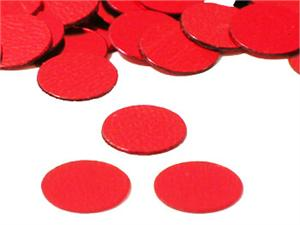 Metallic Red Round Confetti by the pound or packet